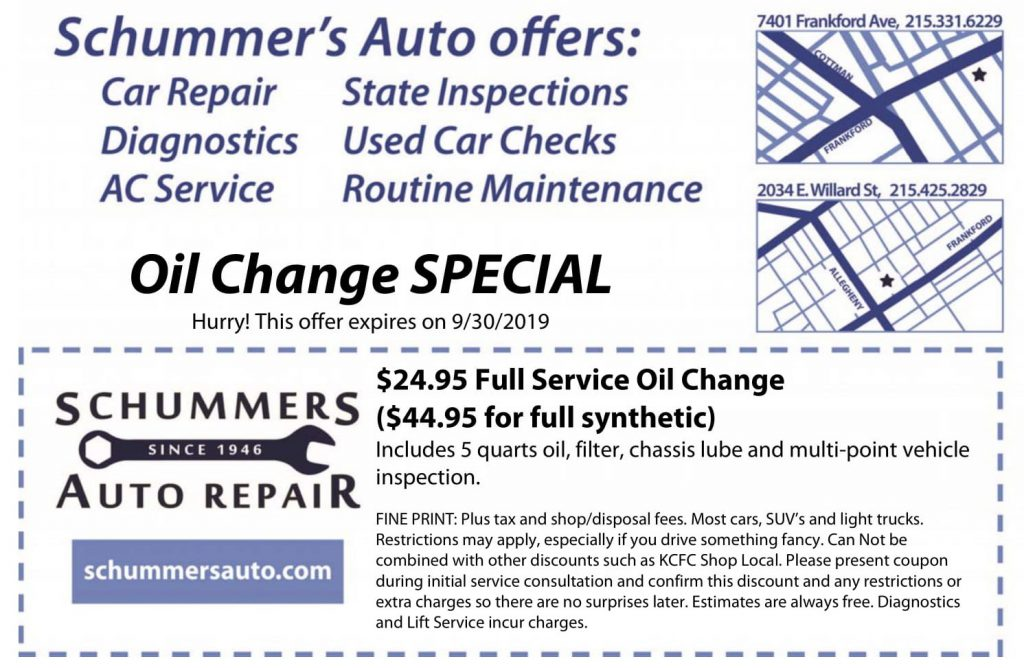 Everyone LOVES a cheap oil change with premium oil!